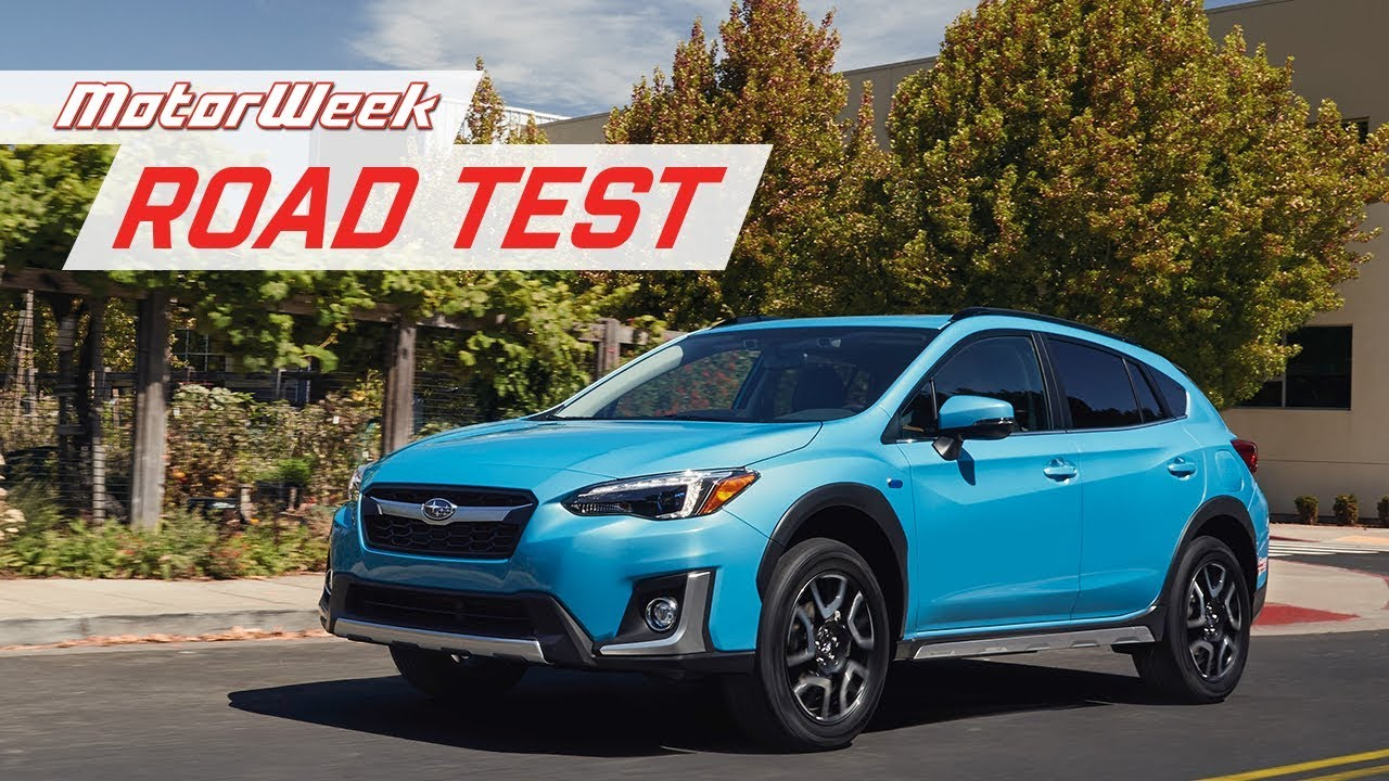 2019 Subaru Crosstrek Hybrid Phev Motorweek Road Test