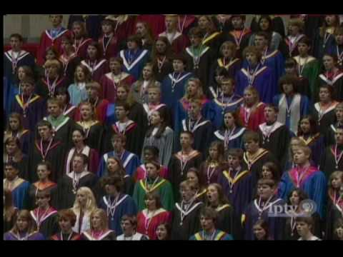 2009 Iowa All-State Chorus: Let Everything That Hath Breath