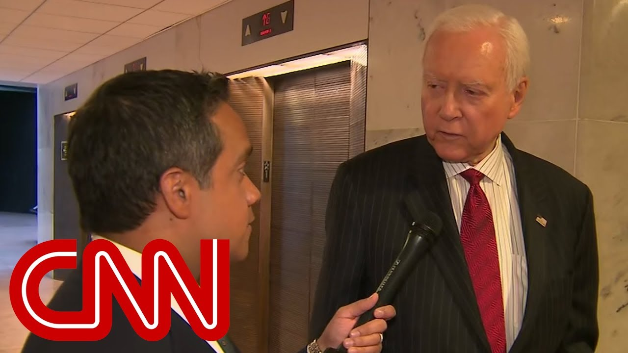 aaae0fe7 Orrin Hatch on Trump Allegations: I Don't Care   Video   RealClearPolitics
