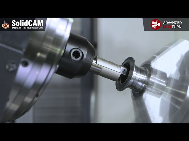 Advanced MillTurn | Manufacturing with Synchronized Machining