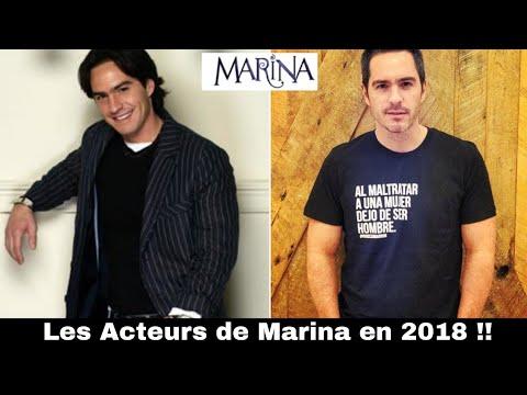 Les Acteurs de MARINA en 2018!