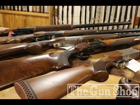 The Gun Shop's Top 5  Shotguns For Sporting Clays