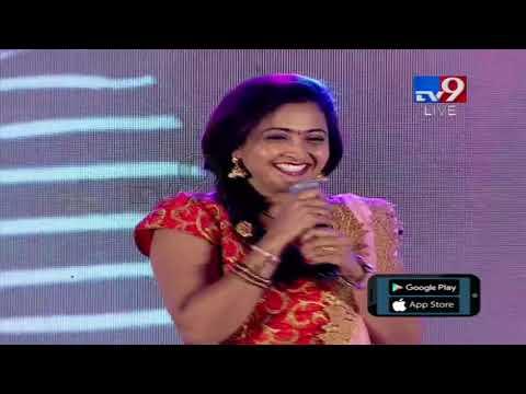 Actress Laasya speech @ MLA Audio Launch - TV9