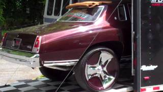 hottest car at 2010 memphis dub show 76 monte carlo comes home