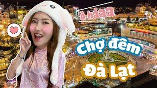 Có Gì Ở Chợ Đêm Đà Lạt !?, Ăn Đêm Thôi Nào ! | Meena Channel