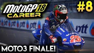 MotoGP 18 Career Mode Part 8 - MOTO3 FINALE! (MotoGP 2018 Game Career Mode Gameplay PS4 / PC)