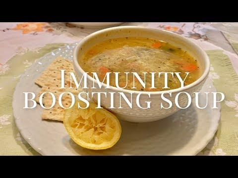 Immunity Boosting Soup Recipe