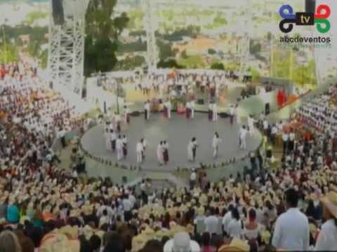 Guelaguetza 2012: 1er. lunes del cerro, 2ª función