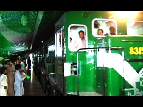 Customized Commemorative Azadi Train Launched From Islamabad Margalla Station