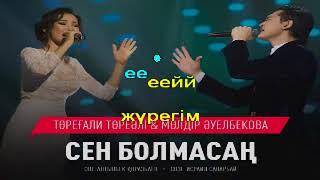 Торегали Тореали Молдир Ауелбекова Сен болмасан КАРАОКЕ