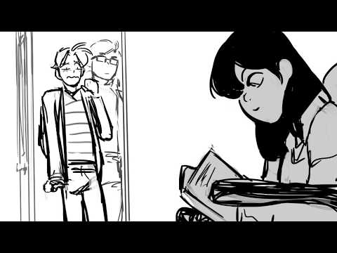 I Love Play Rehearsal First Dialogue -  BE MORE CHILL ANIMATIC WIP