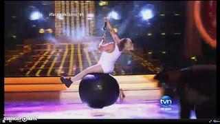 """Malcom Ramos es Miley Cyrus, Canta """"Wrecking Ball"""", Tu Cara Me Suena 2015, TVN Panamá,"""
