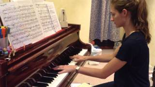 Chopin - Nocturne Op.32, No.1 in B major (excerpt) - played by Gabrielle F.