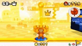 Super Mario 3D Land - Special 8-Crown (Final Level)