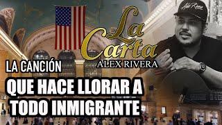 """¡LA CANCIÓN QUE HACE LLORAR A INMIGRANTES! """"Alex Rivera"""" """"Pedro Rivera"""" """"La Carta"""" """"El Inmigrante"""""""