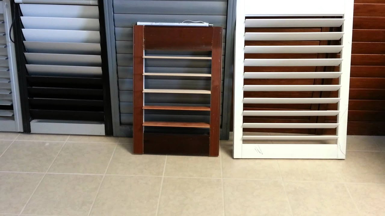 Motorized Plantation Shutters Youtube