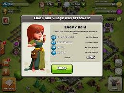 Of clans trophy base best town hall defense 2015 update youtube