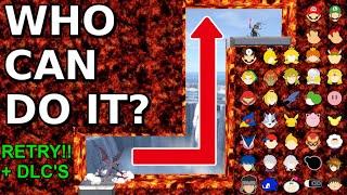 Who Can Make It? Reverse L Lava Tunnel Retry + DLC's - Super Smash Bros. Ultimate