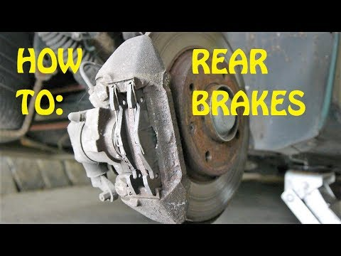 HOW TO: REAR BRAKES – Peugeot 106, 206, 306