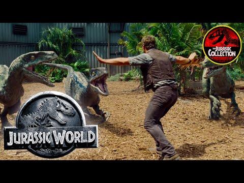 Jurassic World | Behind the Scenes | Spanish | Chris Pratt 2015 dinosaur movie