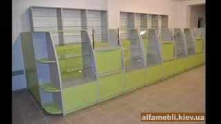 видео Торговая мебель для магазина. Мебель для торговли в Санкт-Петербурге