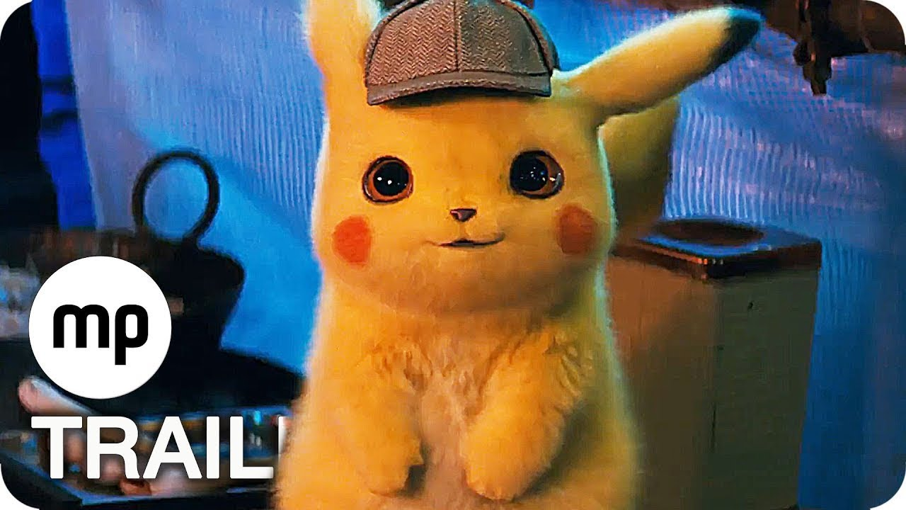 Pokémon Meisterdetektiv Pikachu Trailer Deutsch German 2019 Youtube