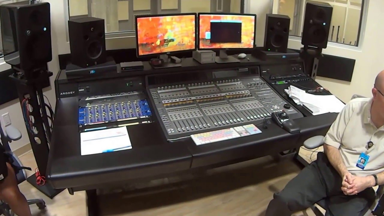 Recording Studio Avid C24 And Focusrite Isa 828 Orientation Instruction In Orlando You
