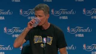 Steve Kerr - Media Availability #1 - Game 5 | Cavaliers vs Warrriors | June 11, 2017 | NBA Finals