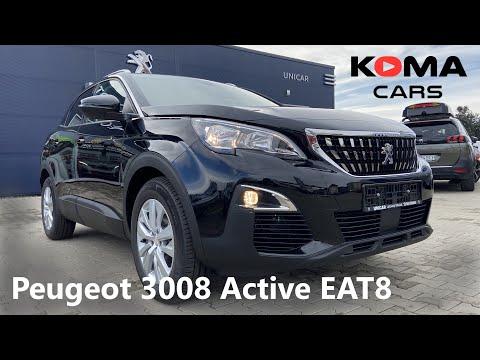 Peugeot 3008 SUV Active - Demonstration, Walkaround, Interior, Exterior, Detail, Trunk,