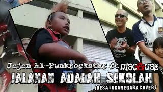 Video Jalanan Adalah Sekolah - Jejen Al-Punkrockstar ft Discause (Desa Lukanegara cover) download MP3, 3GP, MP4, WEBM, AVI, FLV April 2018