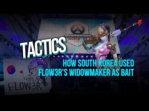 How South Korea used Fl0w3R's Widowmaker as Bait vs. Canada (Overwatch World Cup 2017 Grand Finals)