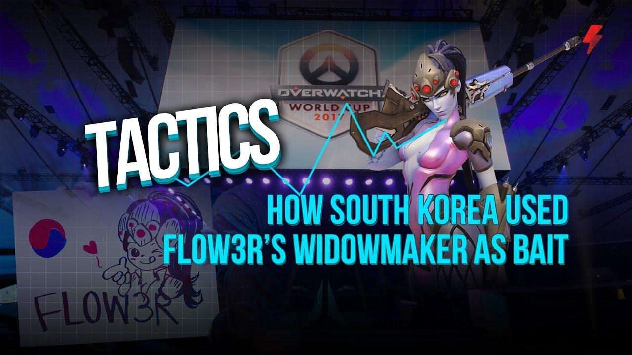 Koreli Flow3r, Amerika Karşısında Widowmaker ile şov yaptı. Galerisi