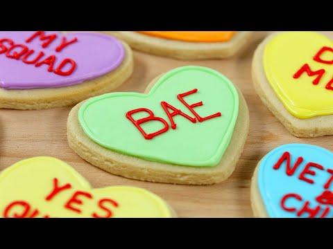 Make VALENTINES HEART COOKIES 💕 Screenshots