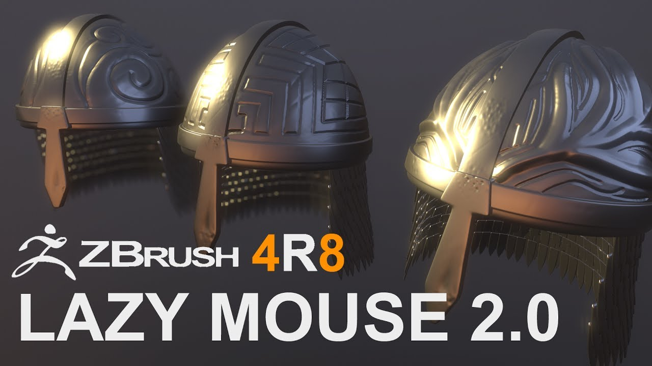 Z Brush 4R8: Lazy Mouse 2 0 - Random Art Attack