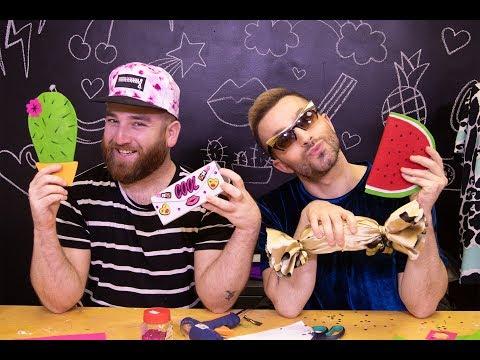 לאון ויואב נכנסים לארון - DIY קייסים למשקפיים
