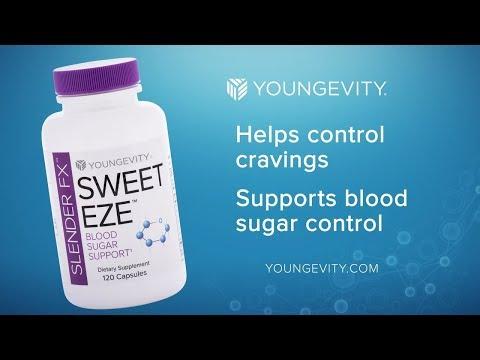 Healthy Blood Sugar Support Slender EFX Sweet EZE