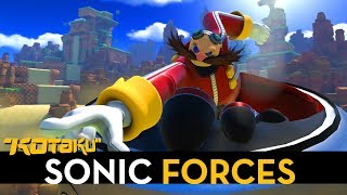 Six Minutes With Three Different Modes In Sonic Forces