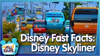 11 Fast Facts About the NEW Disney Skyliner in Disney World!
