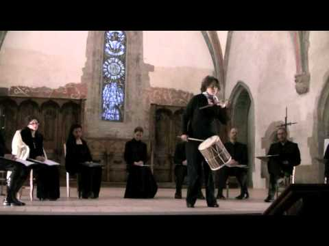 Small medieval drum solo