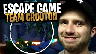 La Team Croûton viendra-t-elle à bout de cette Escape Game sur Fortnite Créatif !