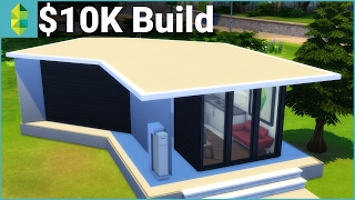 the sims 4 building 10k build challenge tiny home