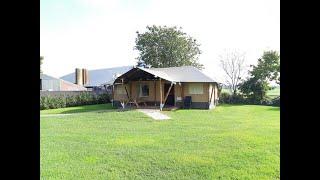 Boer'n Safaritenten bij Camping de Vos in Lemelerveld - Vechtdal Overijssel