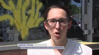 Greenpeace : mobilisation contre la pollution de groupes pétroliers
