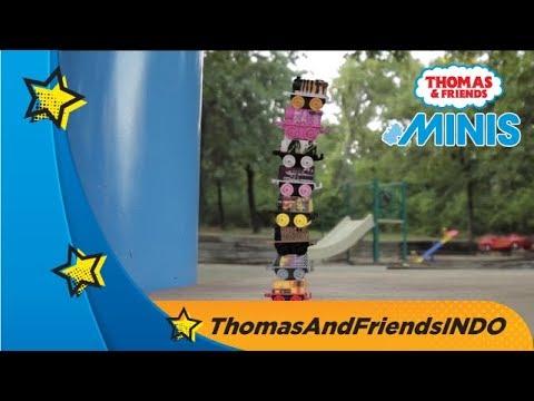 Thomas & Friends Bahasa Indonesia - Piknik di Taman Bersama Thomas & Friends MINIS