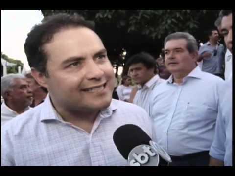 O governador Renan Filho participou da comemoração do dia do trabalhador em Coruripe