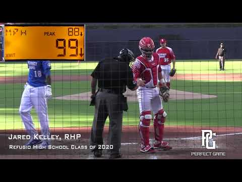 Jared Kelley Prospect Video, RHP, Refugio High School Class of 2020