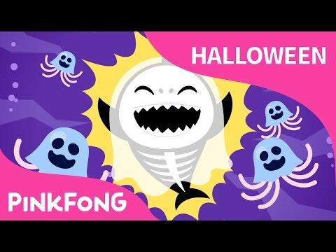 Tiburón Bebé (Halloween Versión) | Canciones de Halloween | PINKFONG Canciones Infantiles