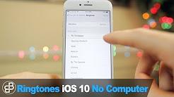Make Free iPhone Ringtones: Set Any Song as Ringtone/Text Sound (NO COMPUTER - iOS 11)
