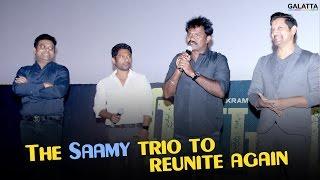 The Saamy trio to reunite again