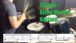 Throne Drum Tutorial - Bring Me the Horizon